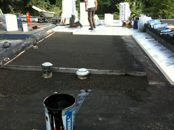 Renovatie en afschot projecten